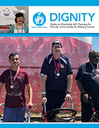 Thumbnail of the Goldie B. Floberg Center newsletter, Dignity